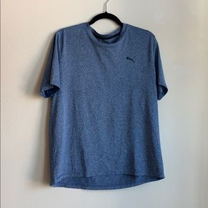 Puma mens blue tshirt